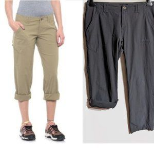 Marmot | 'Erin' roll-up hiking pants in grey